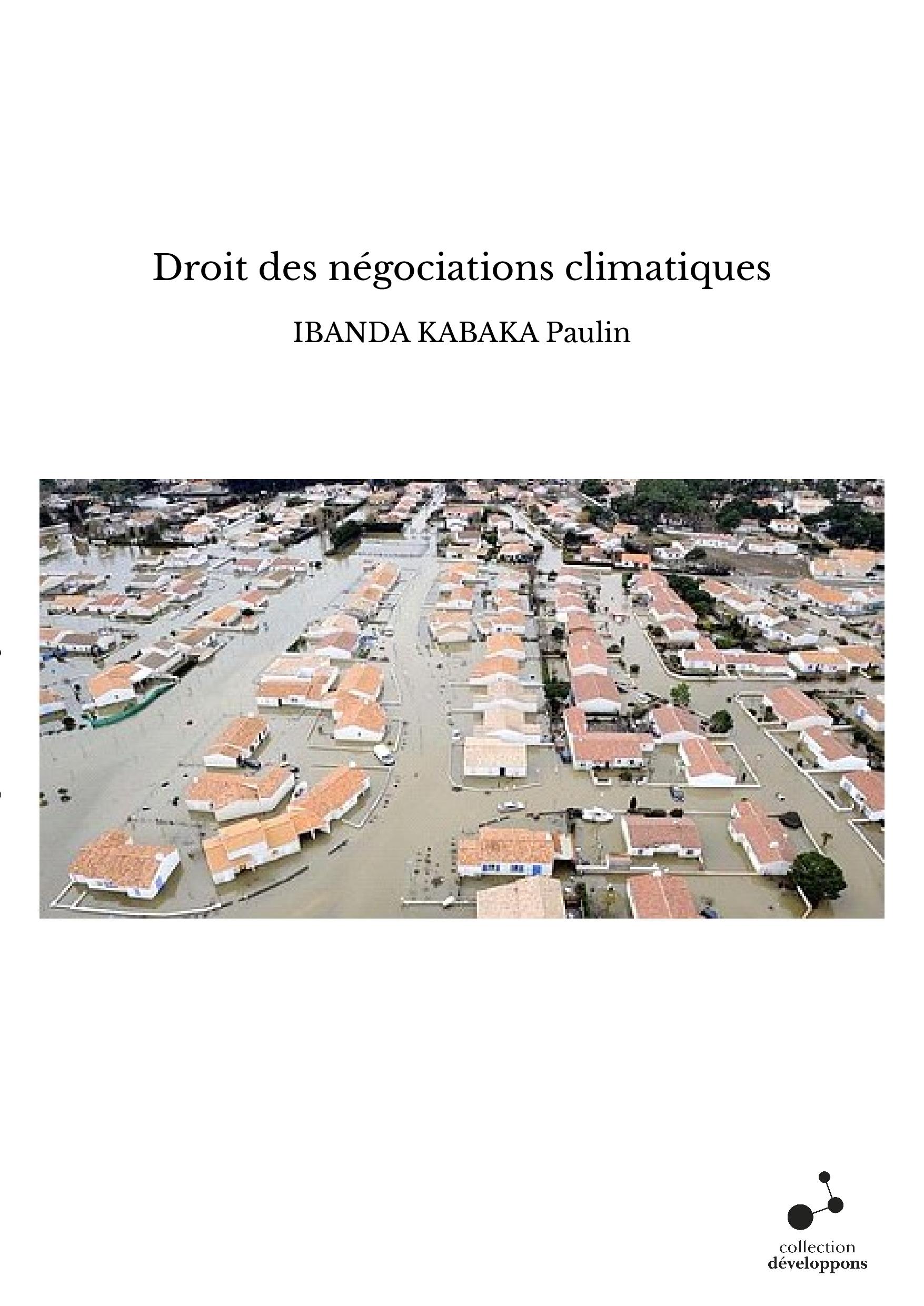 Droit des négociations climatiques