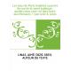 Les eaux de Paris étudiées au point de vue de la santé publique : quelles eaux veut-on faire boire aux Parisiens ? / par le Dr A