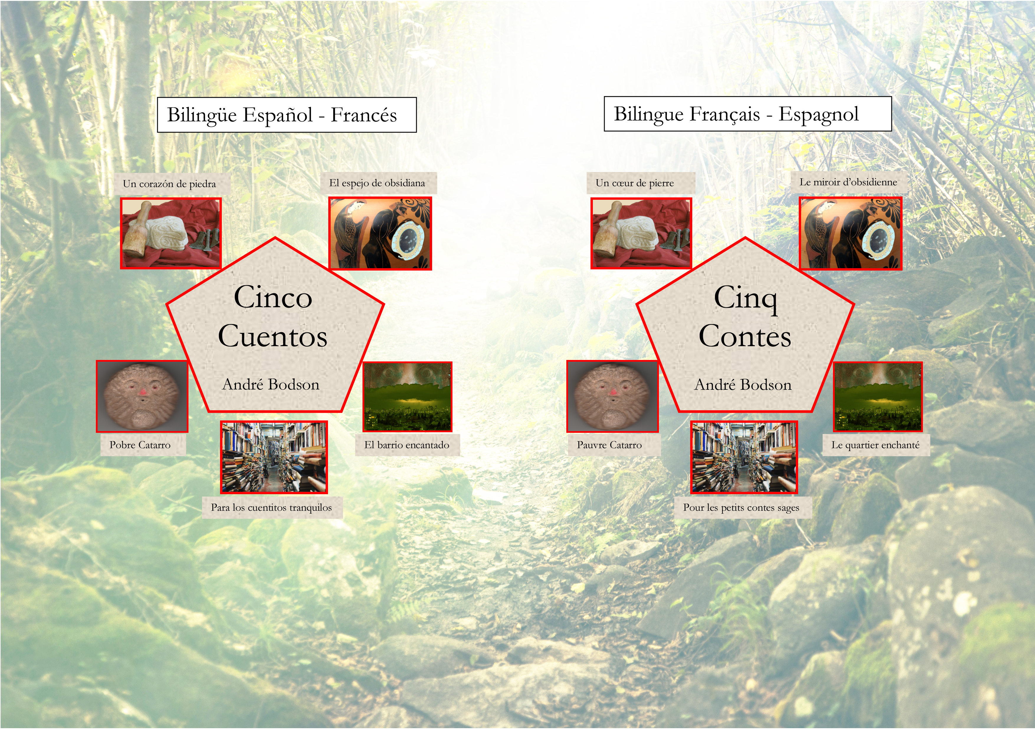 Cinq Contes - Cinco Cuentos Bilingue