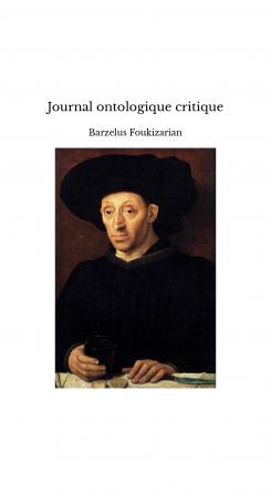Journal ontologique critique