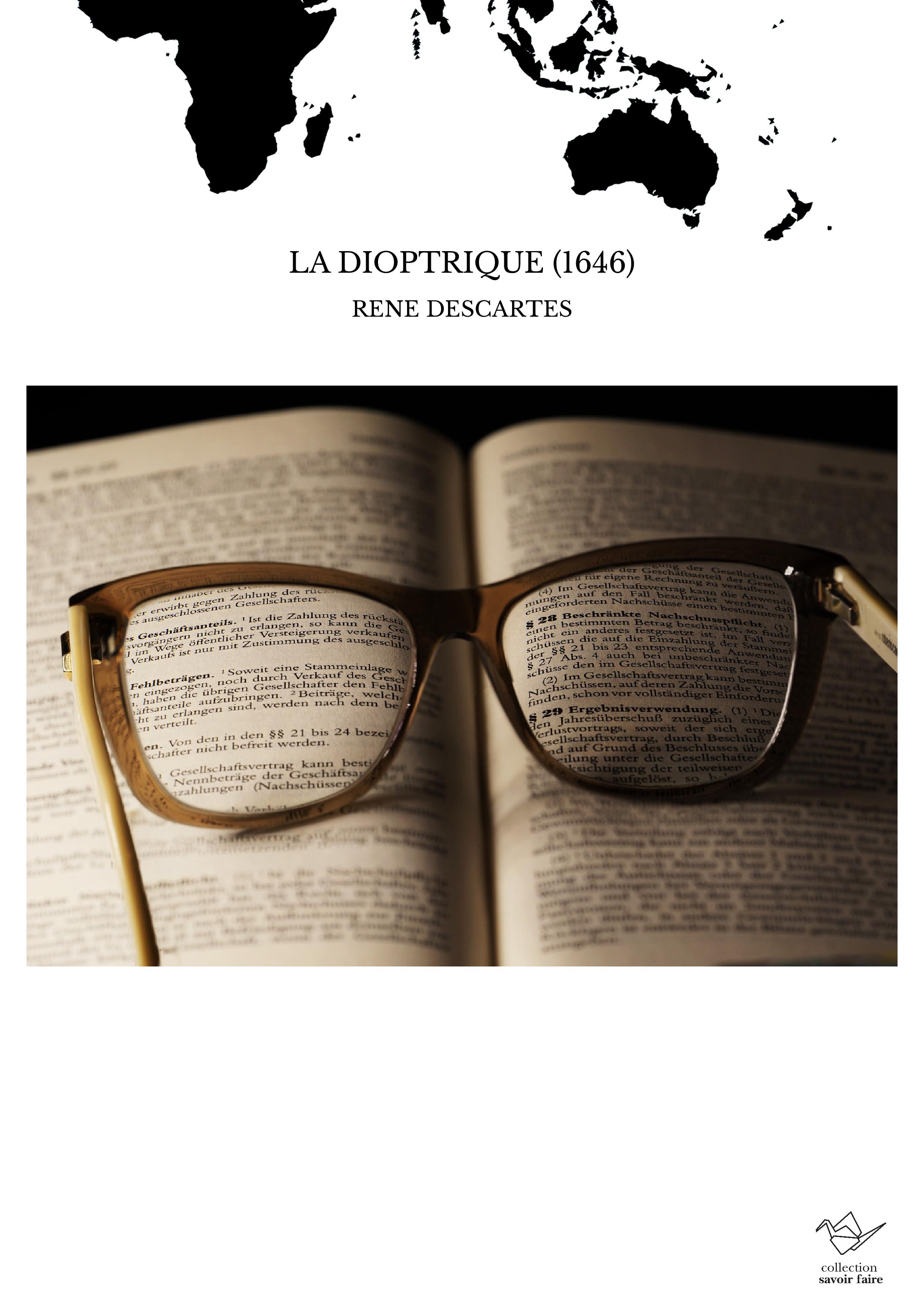 LA DIOPTRIQUE (1646)