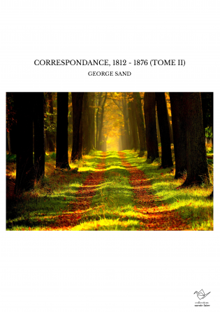 CORRESPONDANCE, 1812 - 1876 (TOME II)