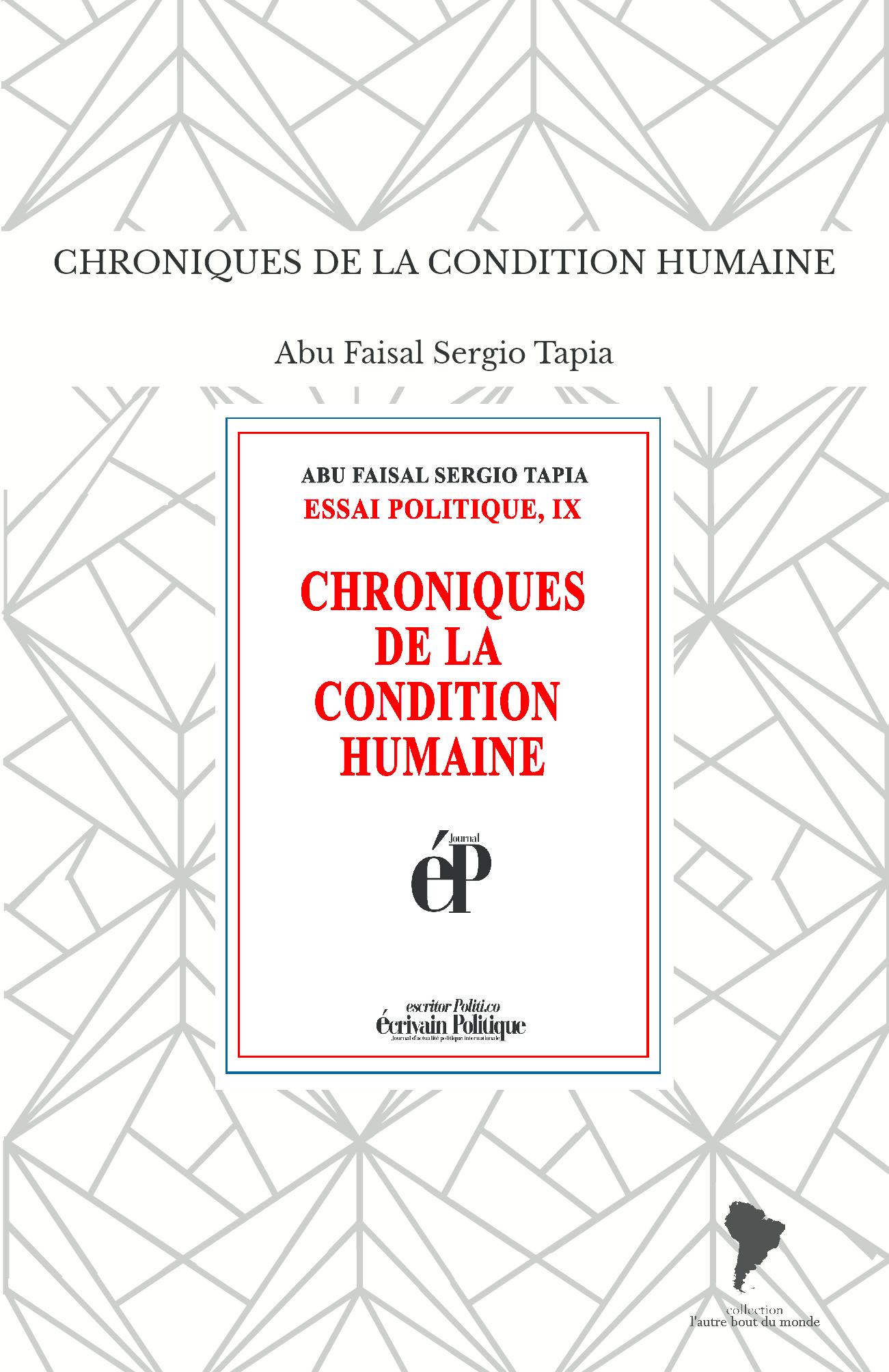 CHRONIQUES DE LA CONDITION HUMAINE