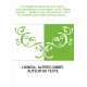 L'évangile au Japon au XXe siècle : correspondance et ouvrages / de M. Alfred Ligneul,... , publiés avec introduction, notes et