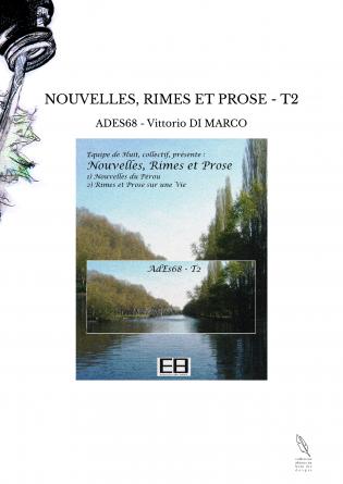 NOUVELLES, RIMES ET PROSE - T2