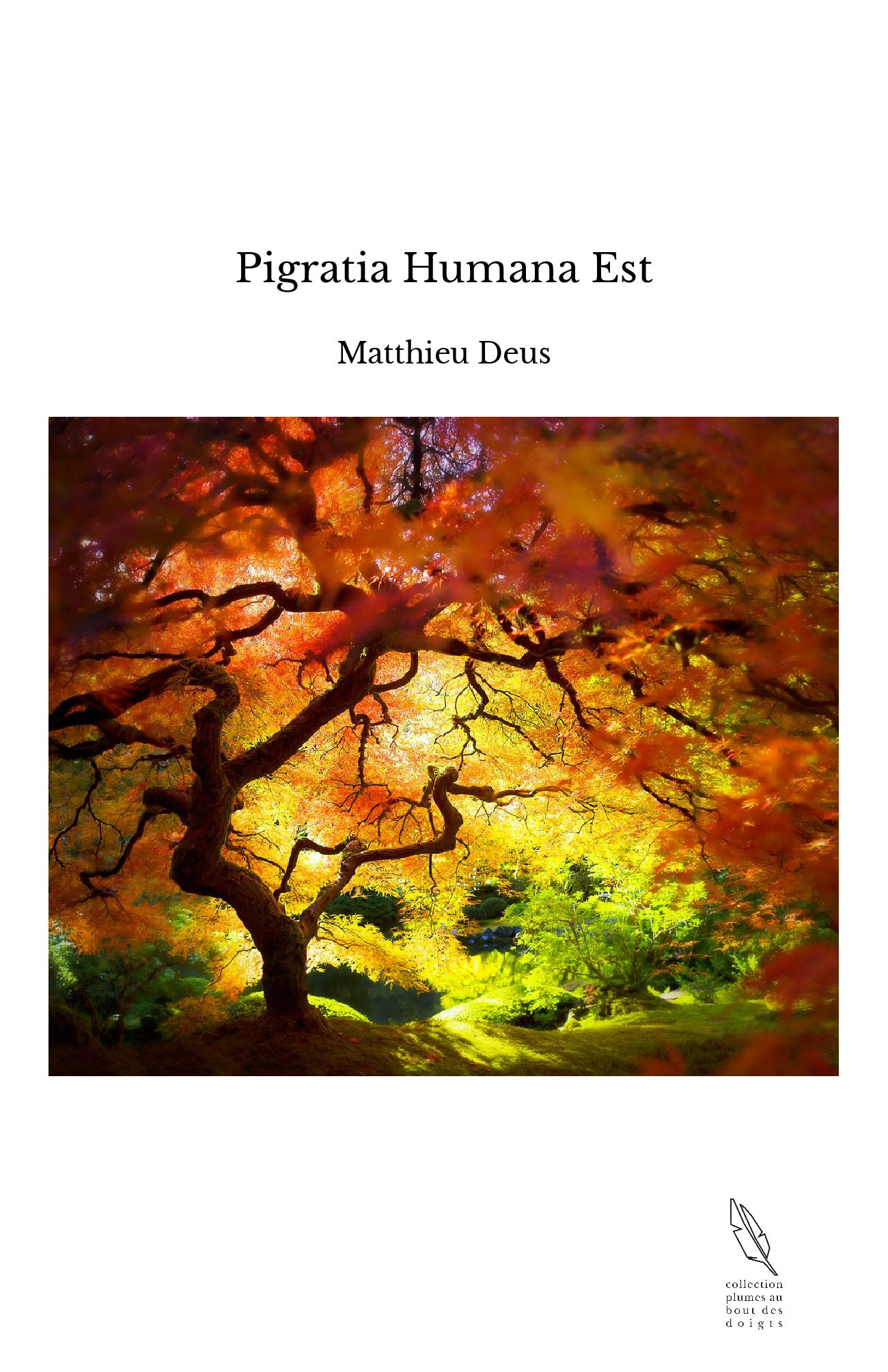 Pigratia Humana Est
