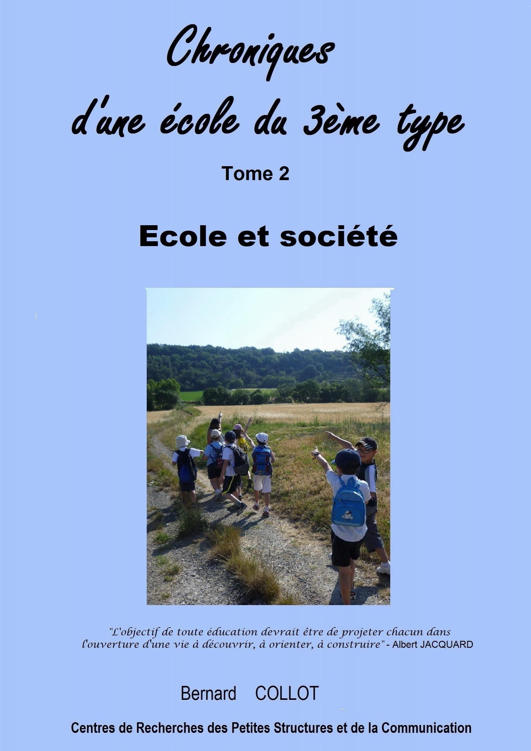 Ecole et société