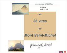 36 vues du Mont...Saint-Michel