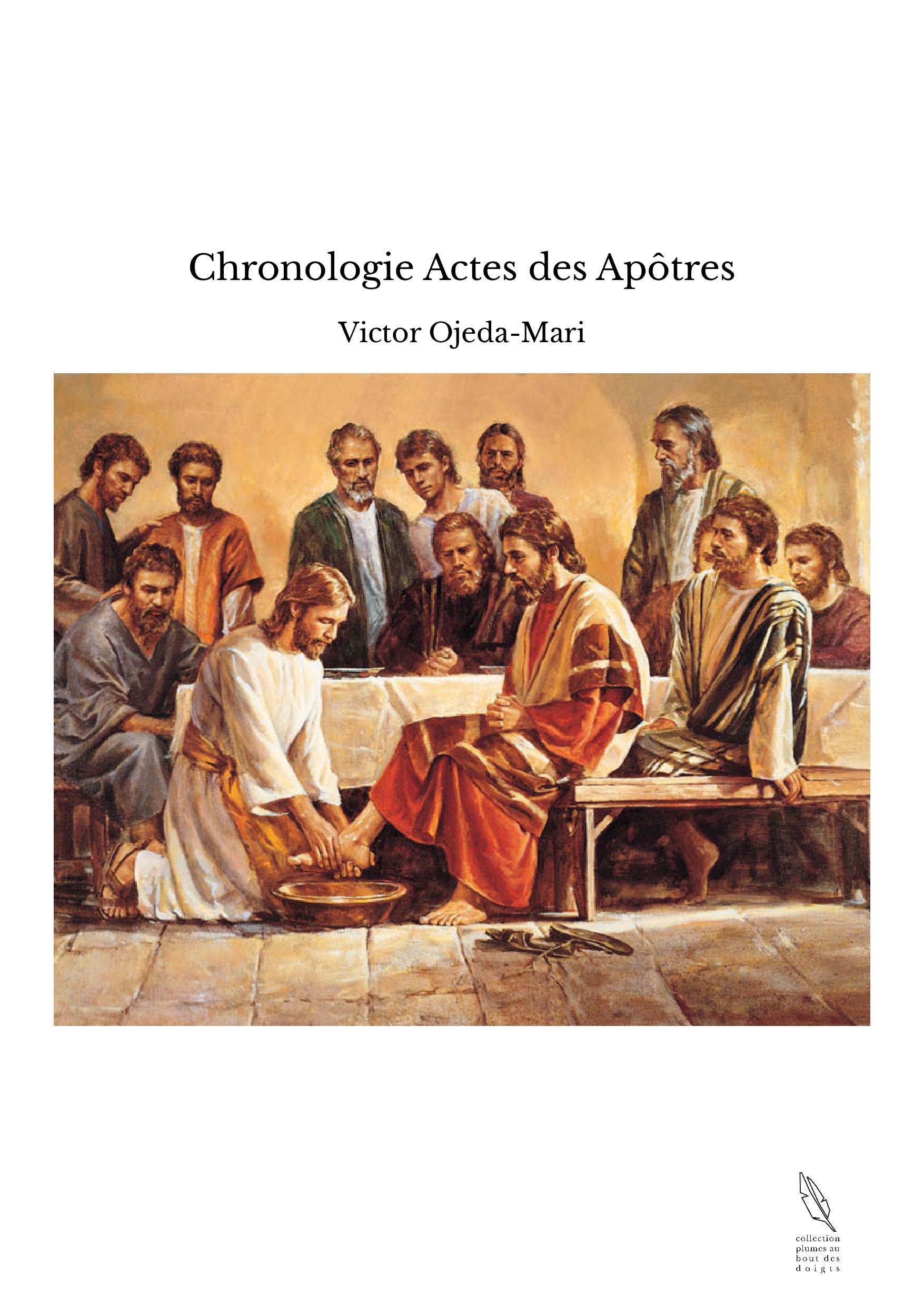 Chronologie Actes des Apôtres