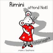 Rimini attend Noël ! Coloriages