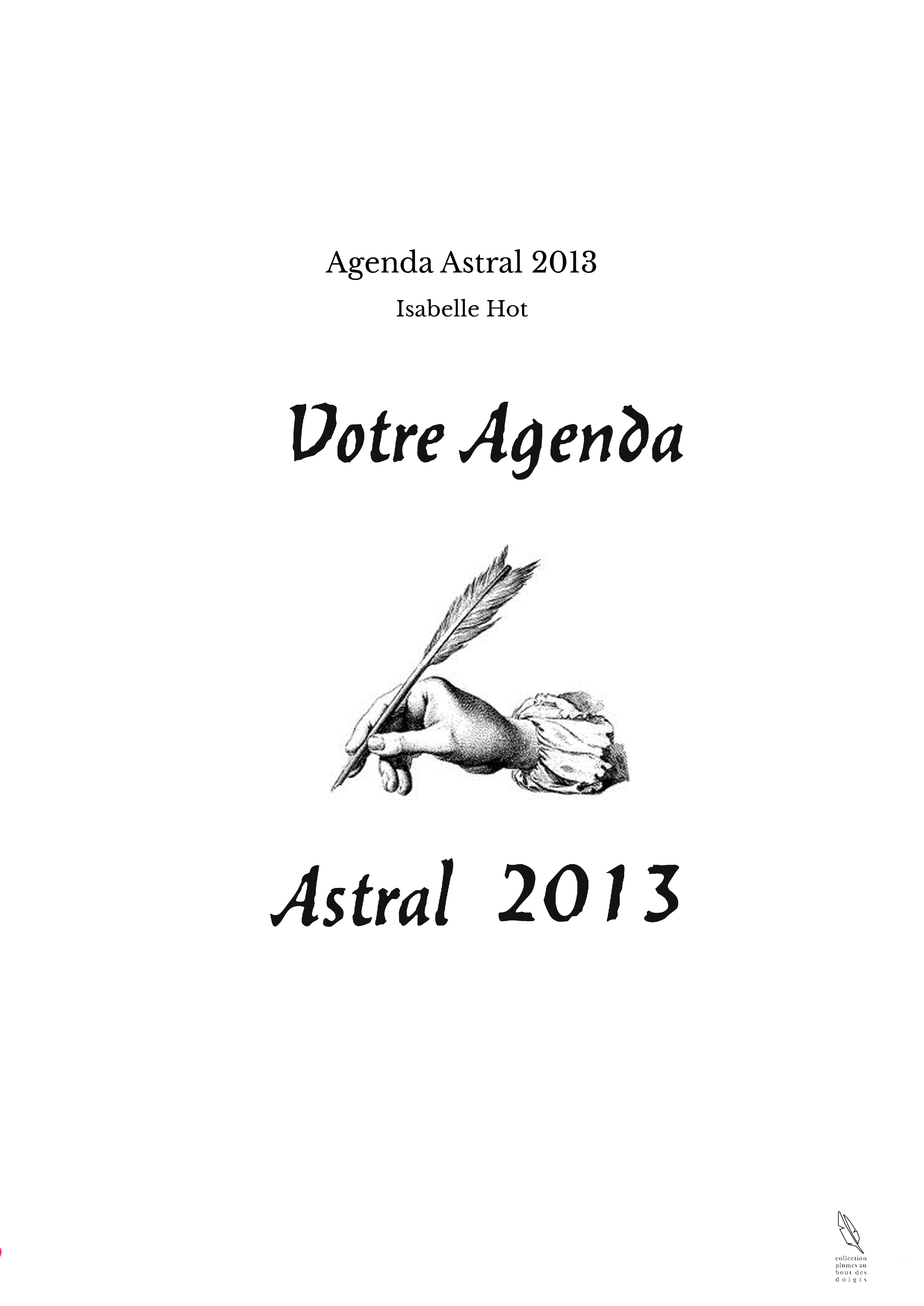 Agenda Astral 2013