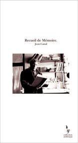 Recueil de Mémoire.