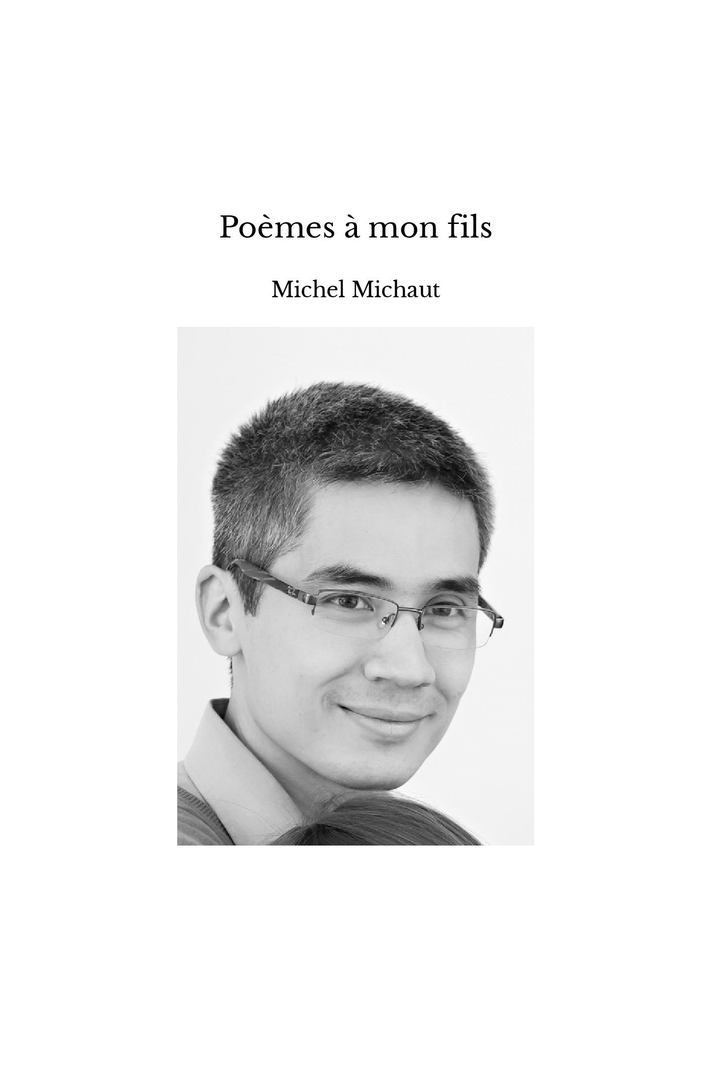 Poèmes à mon fils