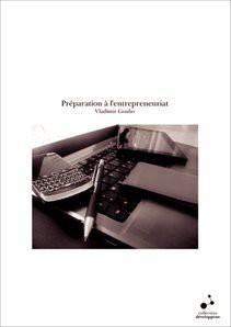Préparation à l'entrepreneuriat