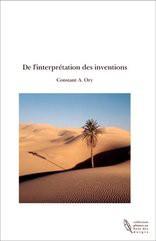 De l'interprétation des inventions