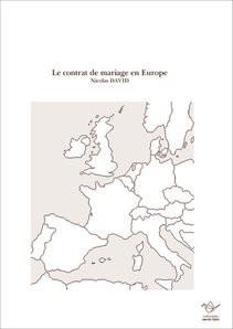 Le contrat de mariage en Europe