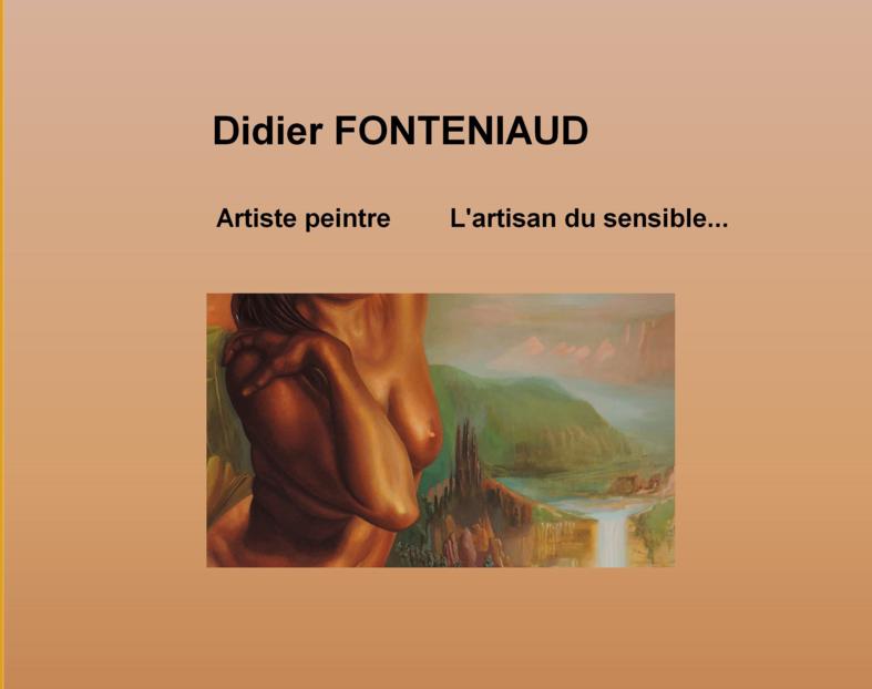 Didier FONTENIAUD artiste peintre