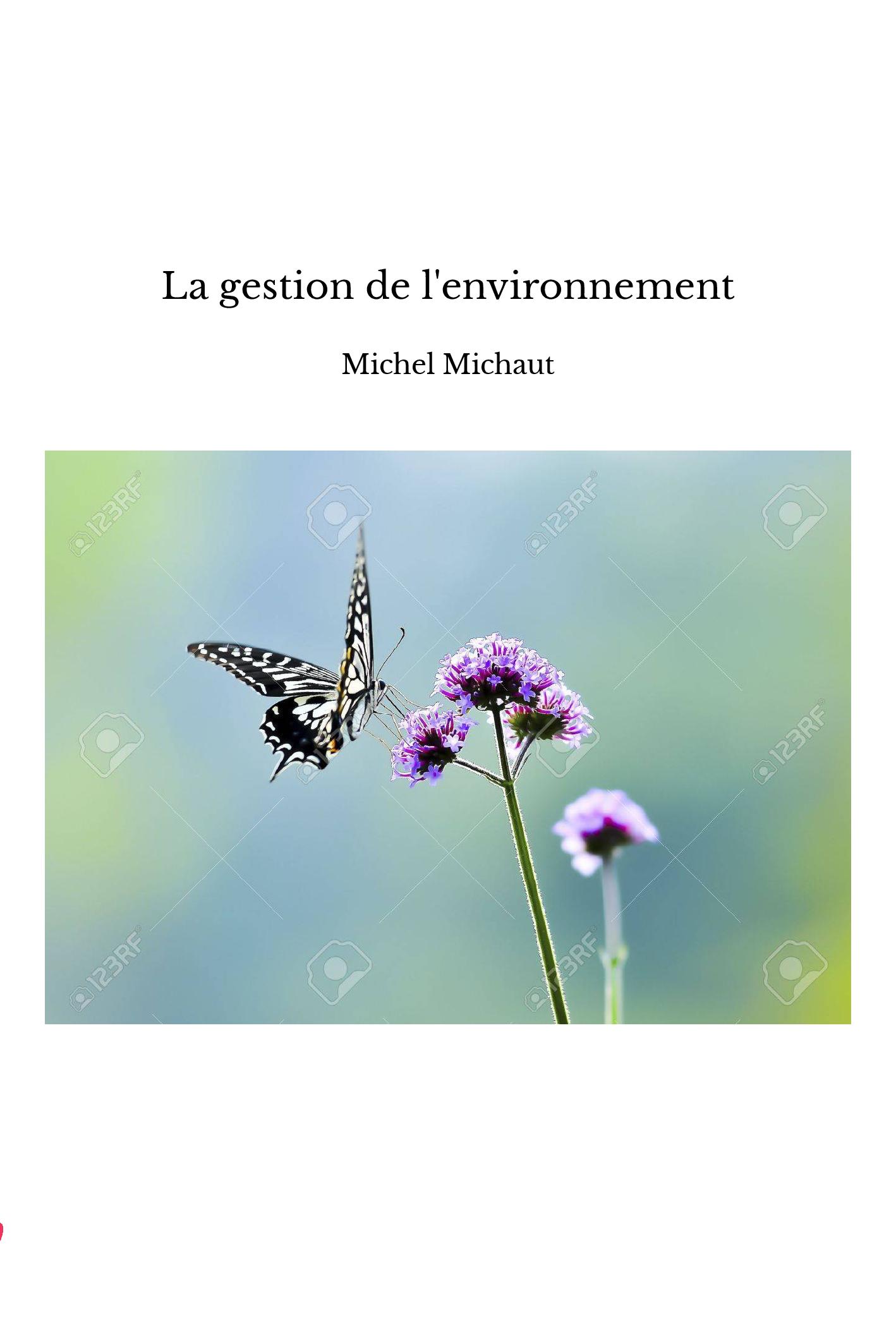 La gestion de l'environnement