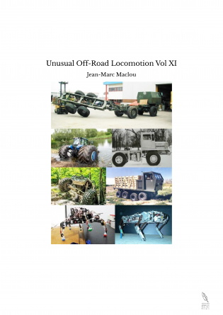 Unusual Off-Road Locomotion Vol XI