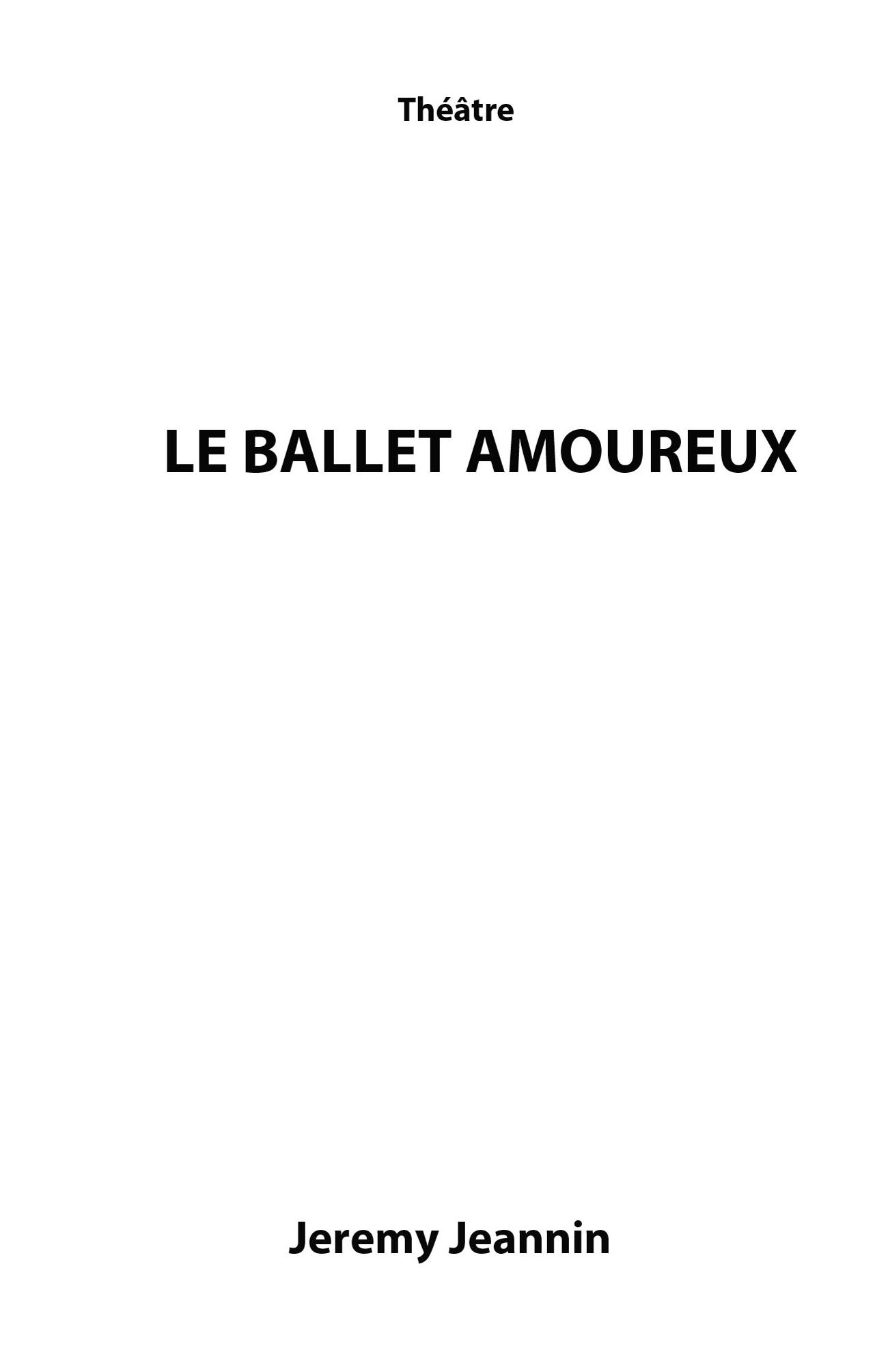 Le Ballet Amoureux