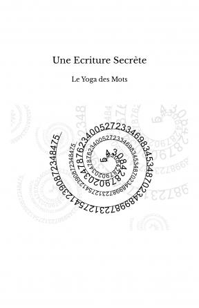 Une Ecriture Secrète