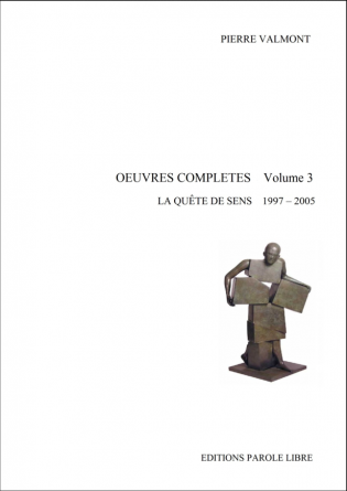 OEUVRES COMPLÈTES Volume 3