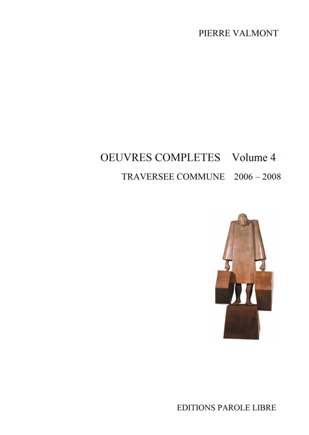 OEUVRES COMPLÈTES Volume 4