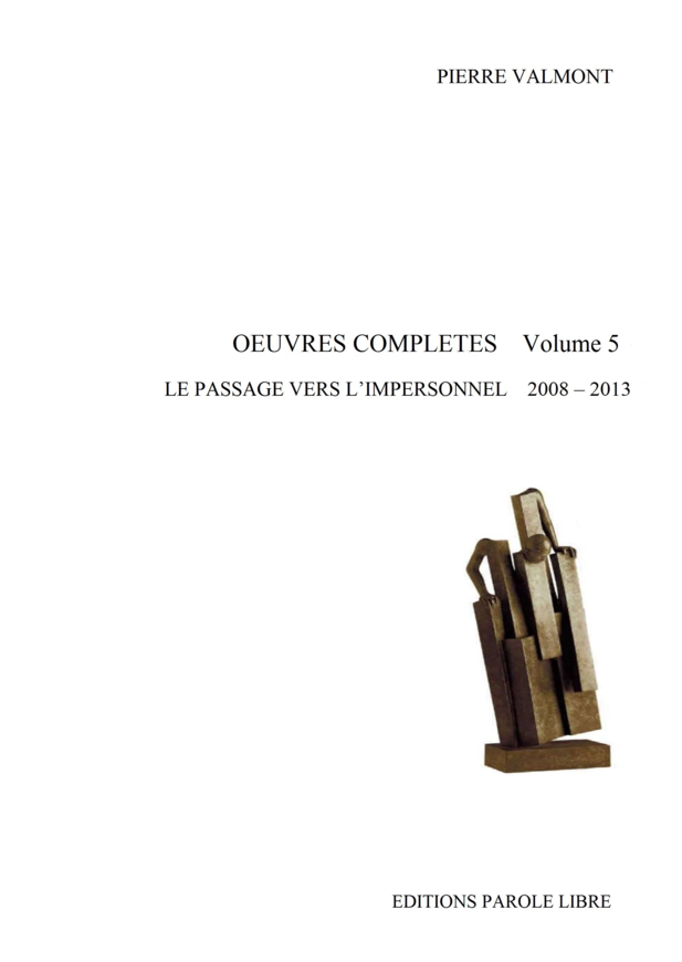OEUVRES COMPLÈTES Volume 5