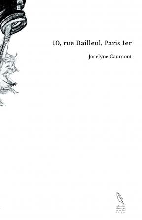 10, rue Bailleul, Paris 1er