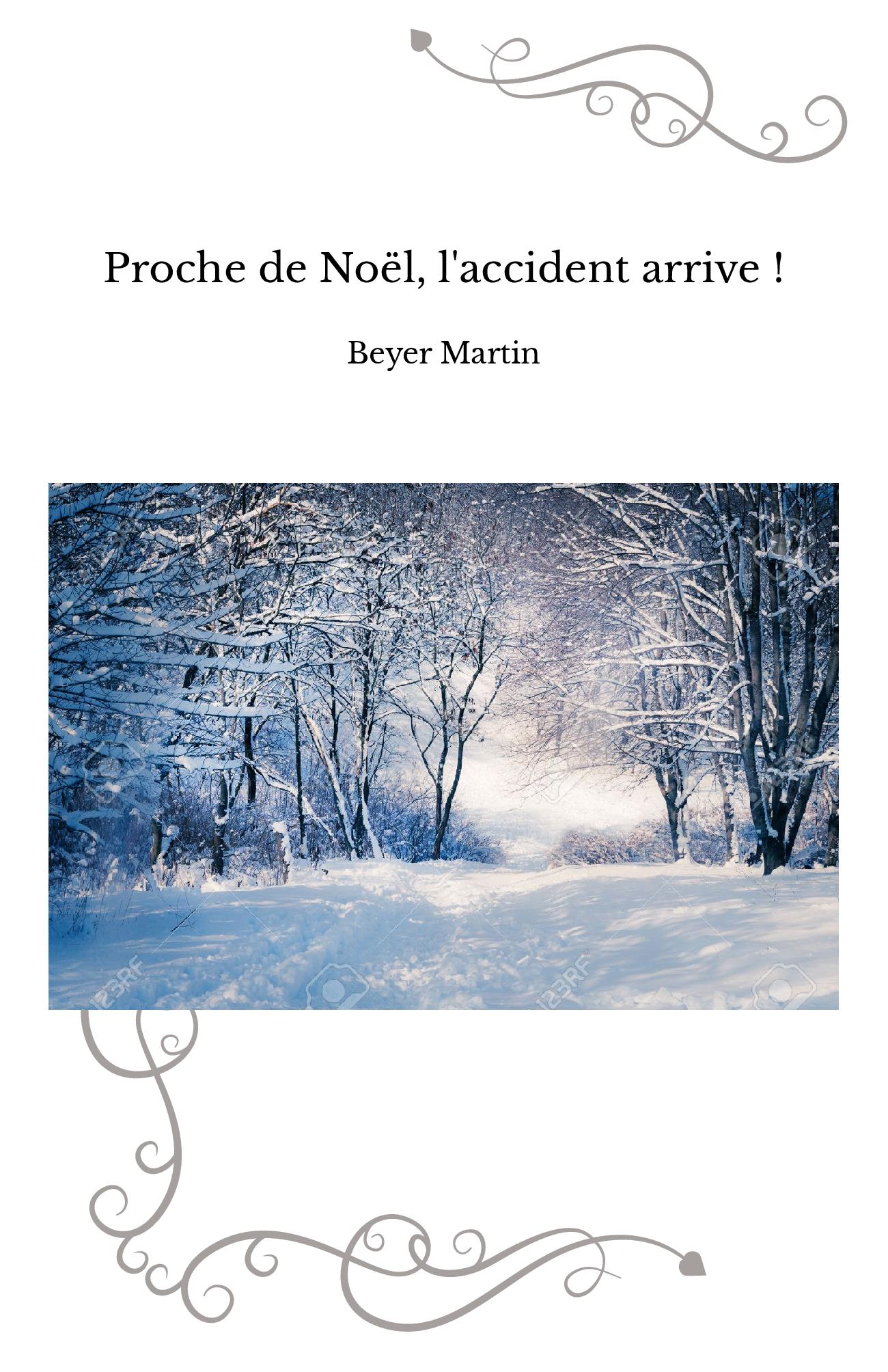 Proche de Noël, l'accident arrive !