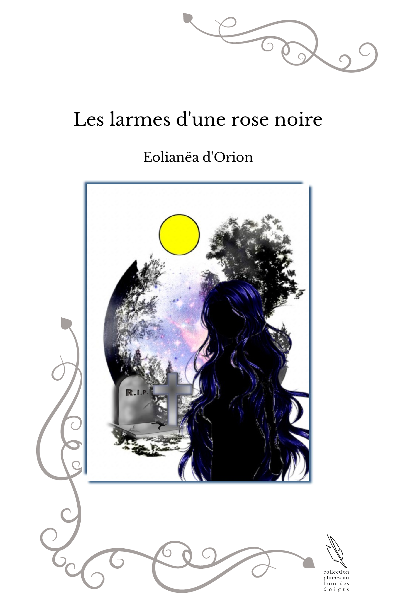 Les larmes d'une rose noire