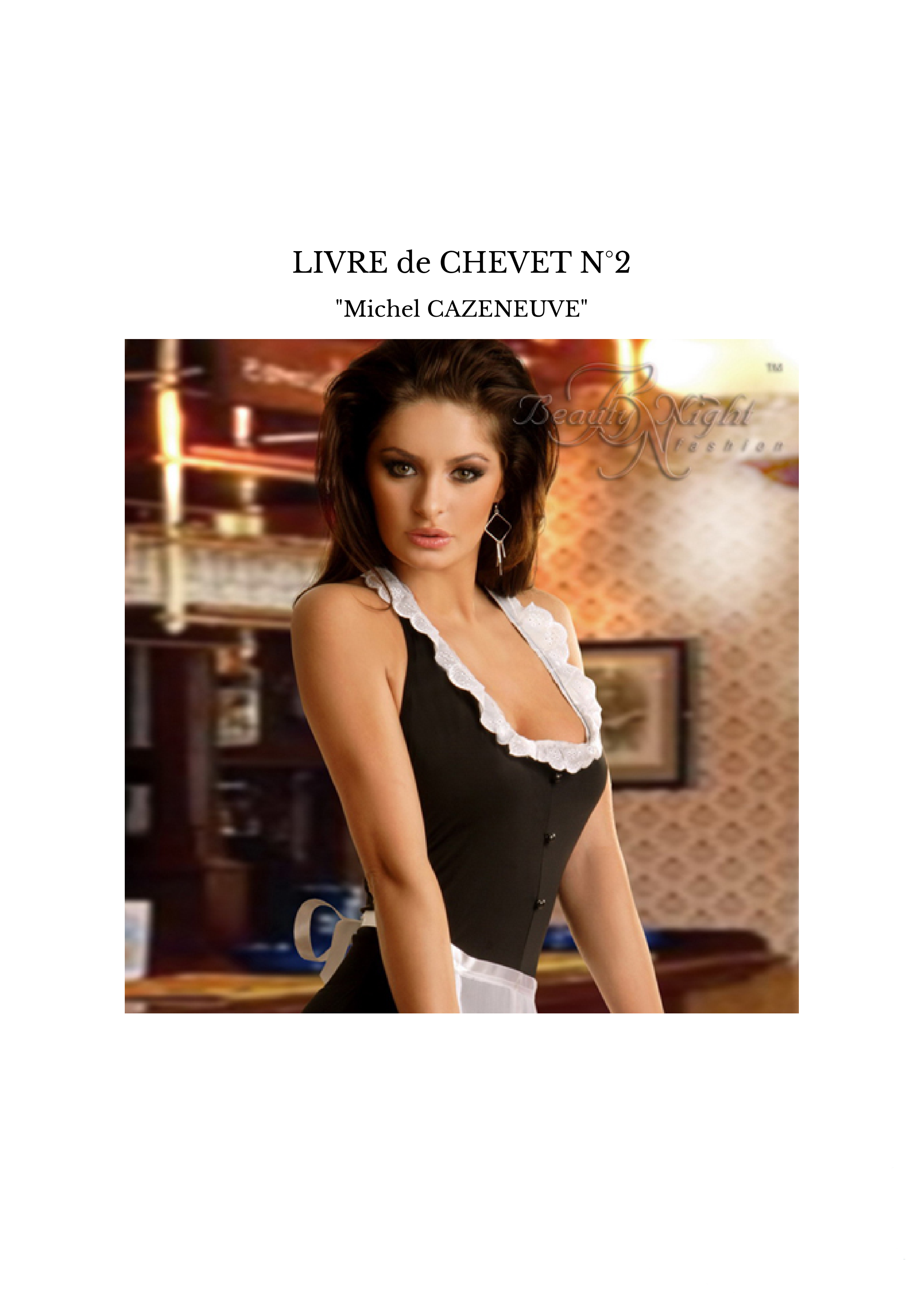LIVRE de CHEVET N°2
