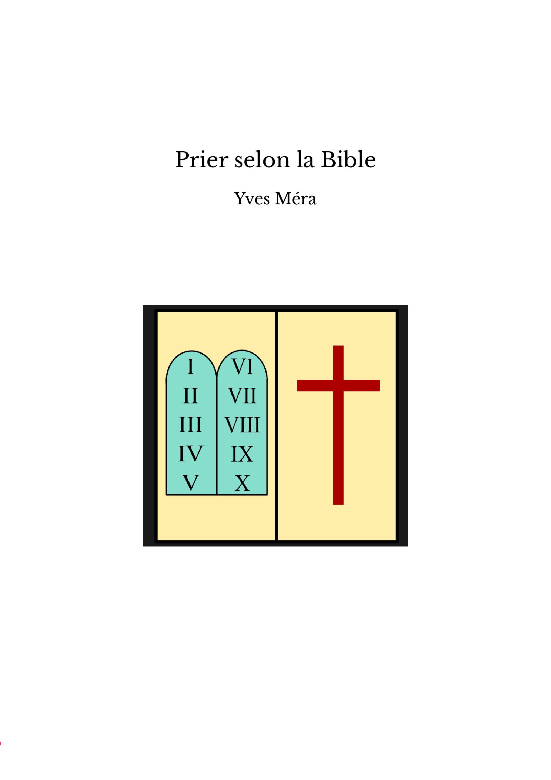 Prier selon la Bible