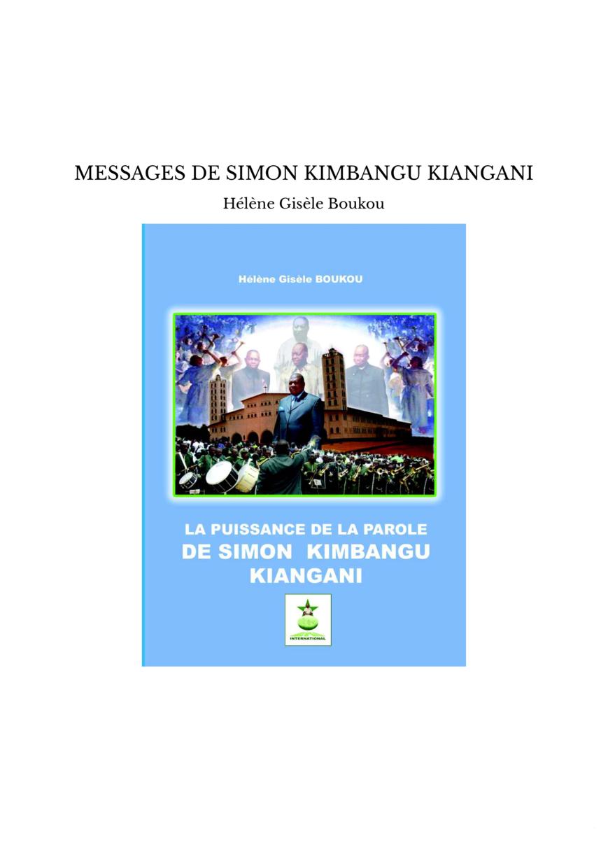 MESSAGES DE SIMON KIMBANGU KIANGANI