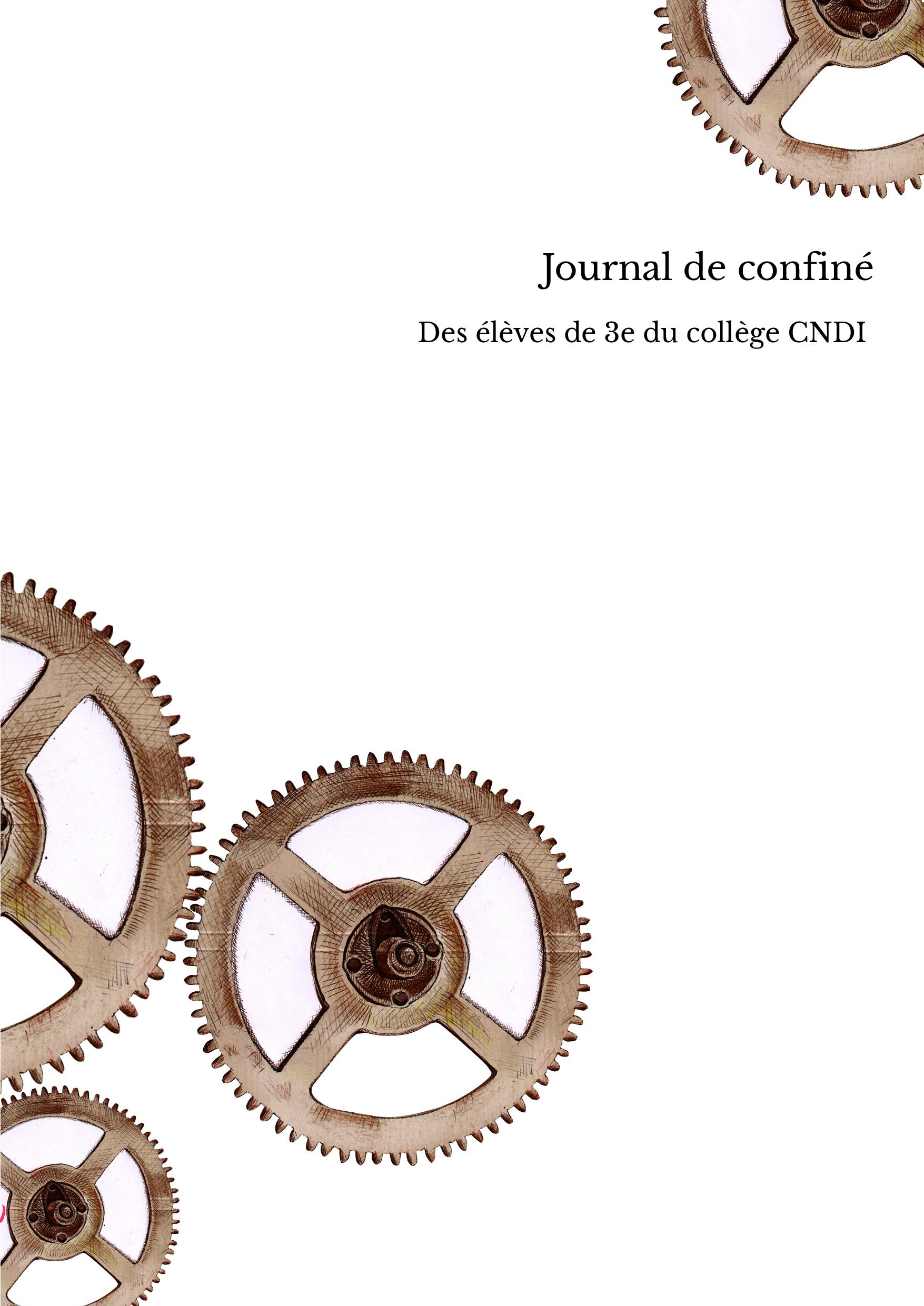 Journal de confiné