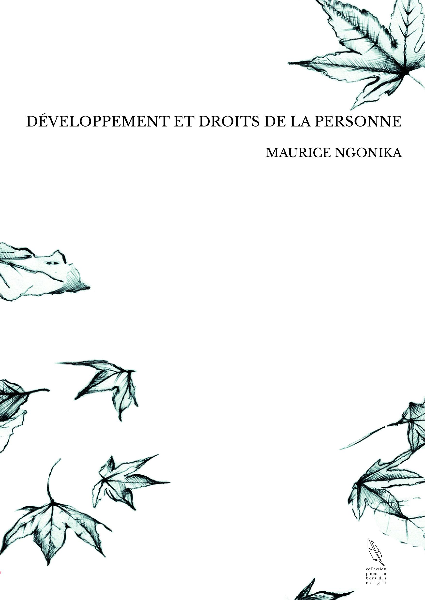 DÉVELOPPEMENT ET DROITS DE LA PERSONNE