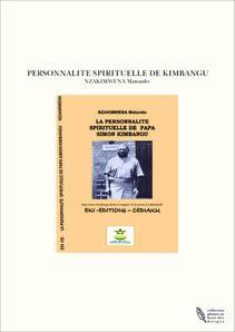 PERSONNALITE SPIRITUELLE DE KIMBANGU