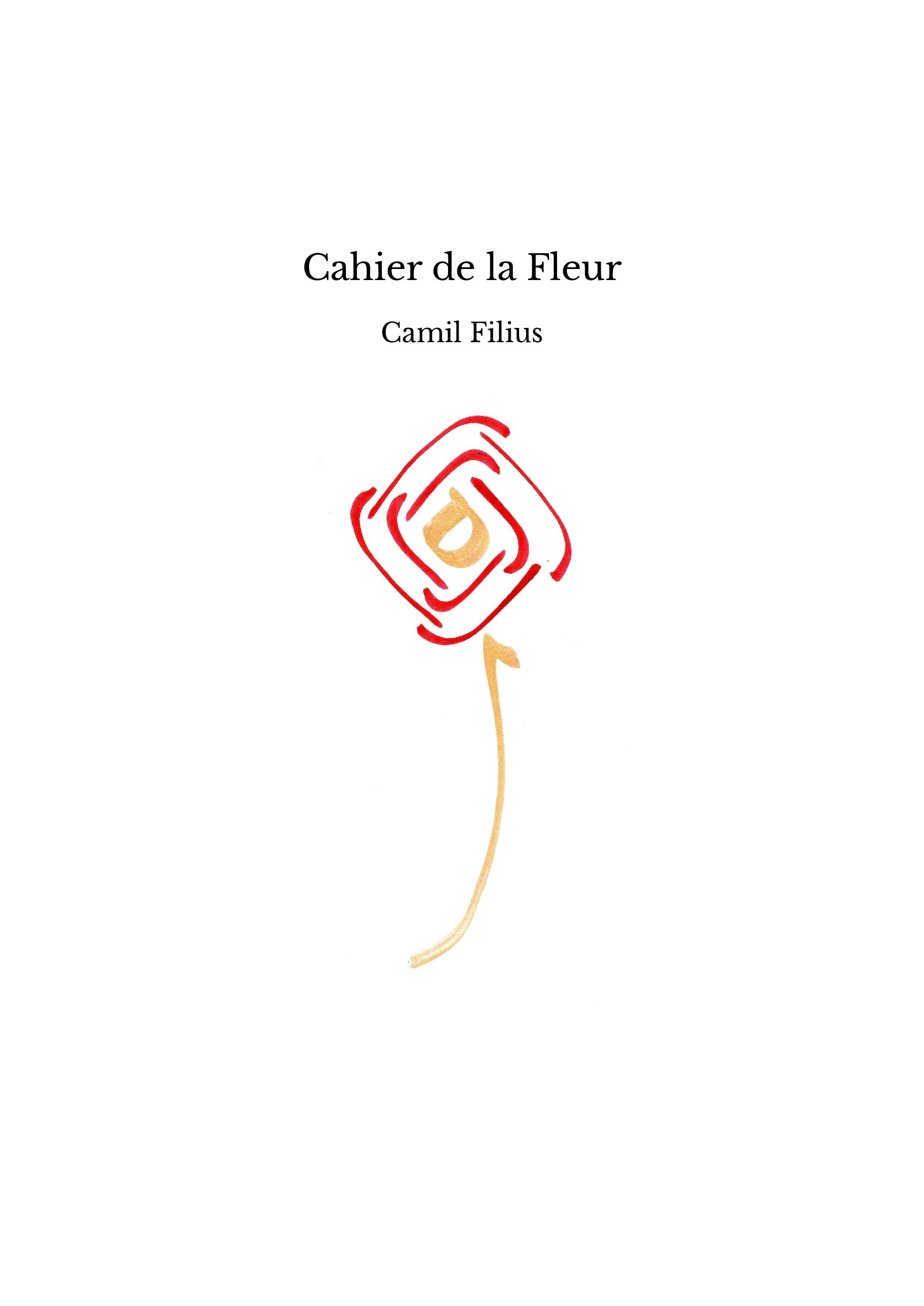 Cahier de la Fleur