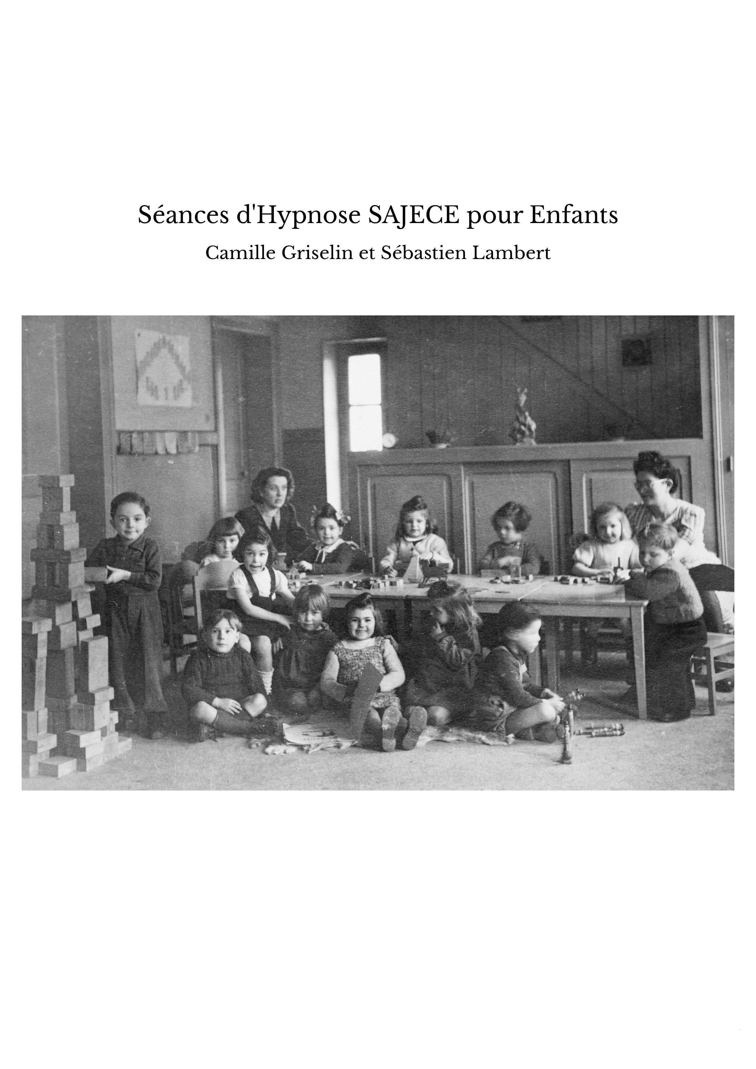 Séances d'Hypnose SAJECE pour Enfants