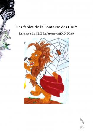 Les fables de la Fontaine des CM2