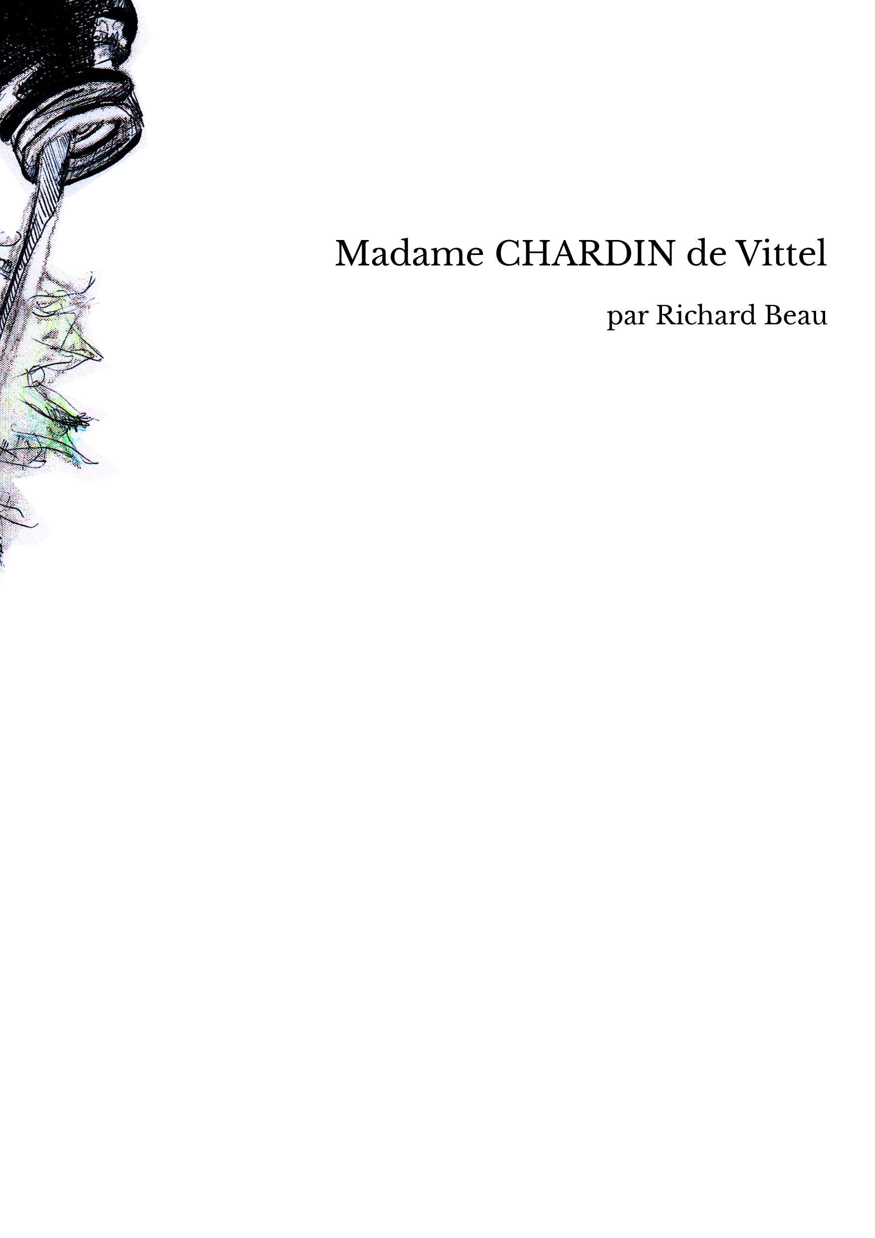 Madame CHARDIN de Vittel