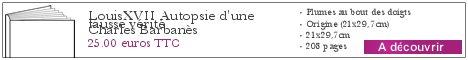 Le livre Louis XVIIAutopsie d\'une fausse vérité
