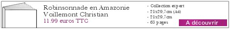 Le livre Robinsonnade en Amazonie