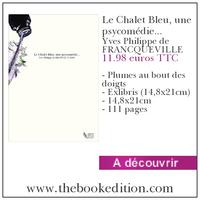 Le livre Le Chalet Bleu, une psycomédie…