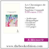 Le livre Les Chroniques de Sandrine