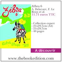 Le livre Zébra 6