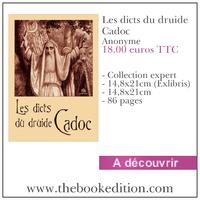 Le livre Les dicts du druide Cadoc