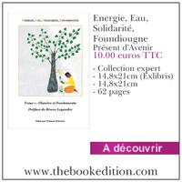 Le livre Energie, Eau, Solidarité, Foundiougne