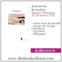 Le livre Journal de Jérusalem
