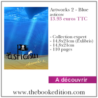 Le livre Artworks 2 - Blue